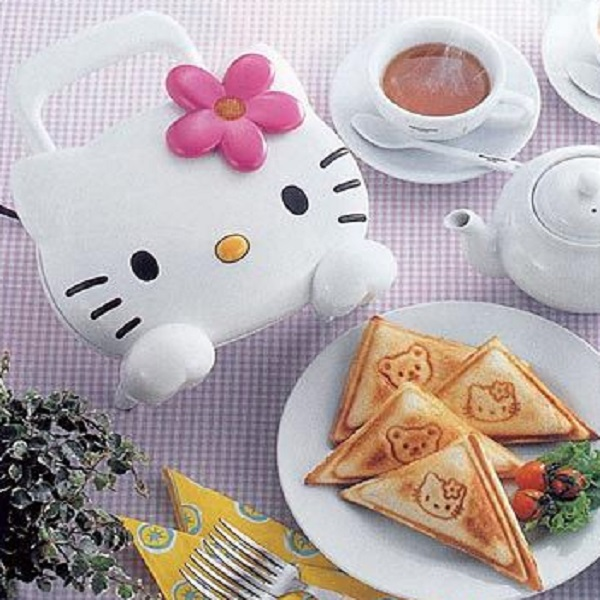 Hello Kitty Grilled Cheese Sandwich Toaster