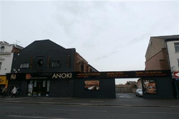 Anoki, London Rd, Derby