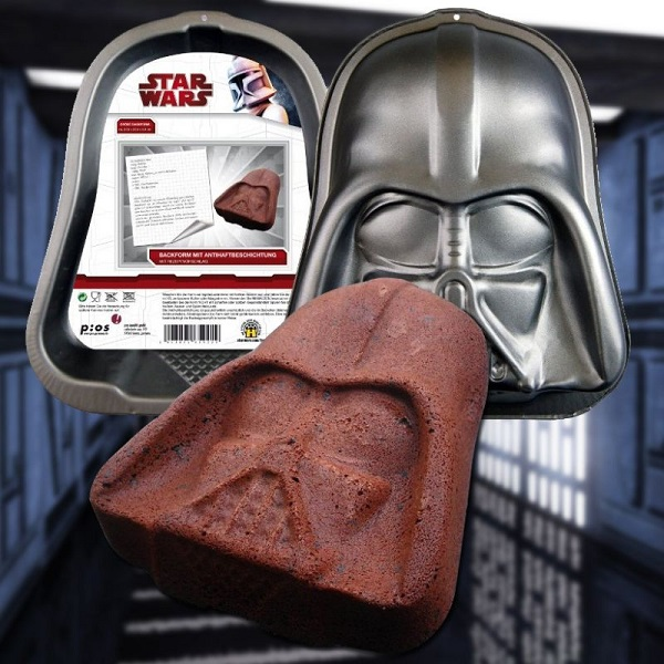 Official Darth Vader Cake Tin