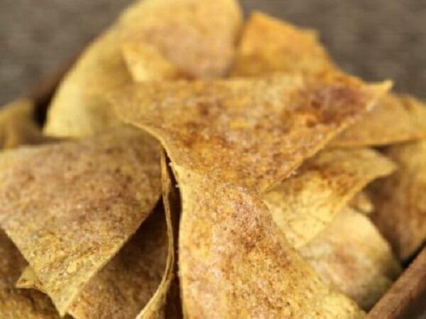 Easy Cinnamon Crisps (Chips)