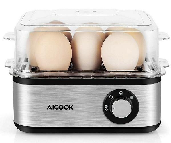 AiCook 8 Egg Capacity Egg Cooker
