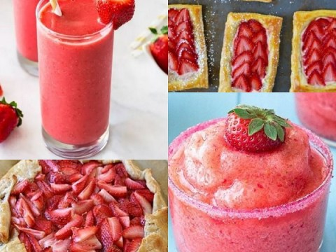Ten Foods and Drinks You Can Make With Strawberries