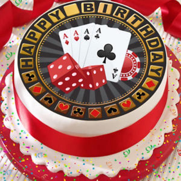 Roulette Birthday Cake