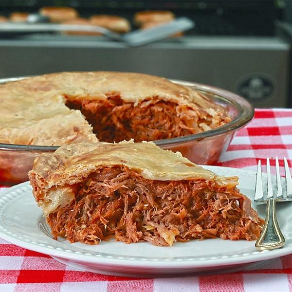 Pulled Pork Pie