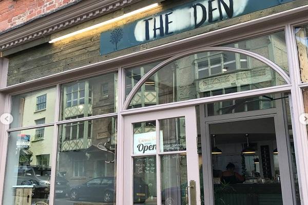 The Den Restaurant, Bridge Street, Hereford