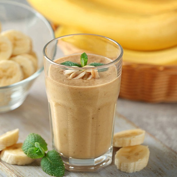 Date, Honey & Banana Milkshake