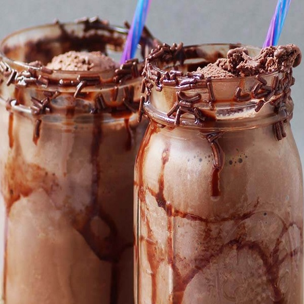 Triple Chocolate Milkshake