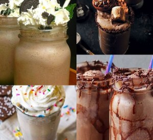 Ten Different Ways to Enjoy a Chocolate Milkshake and All the Recipes