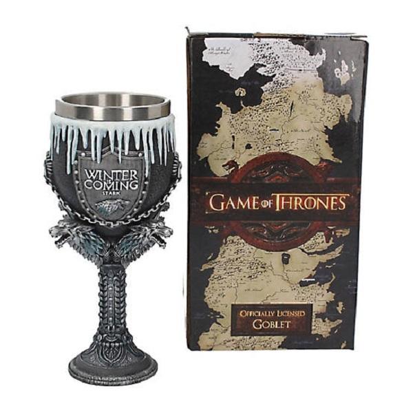 Game Of Thrones House Stark Goblet