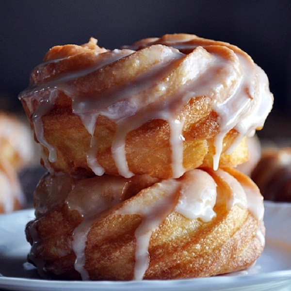 How to Make a French Cruller Ring Doughnut