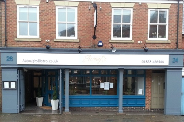 Ascough's Bistro, St Mary's Road, Market Harborough