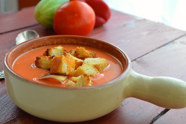 Spanish Tomato Gazpacho