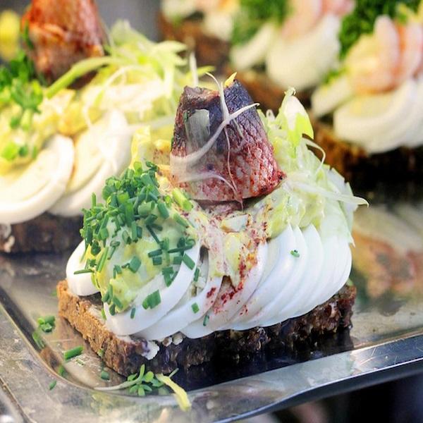 Traditional Smørrebrød (Open Sandwich)