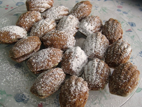 Traditional Slovak Walnut Cookies