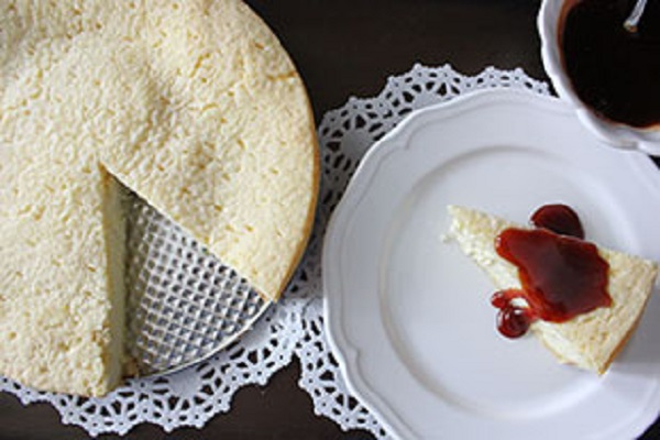 Traditional Montenegrin Koroman Cake (Cheese Cake)