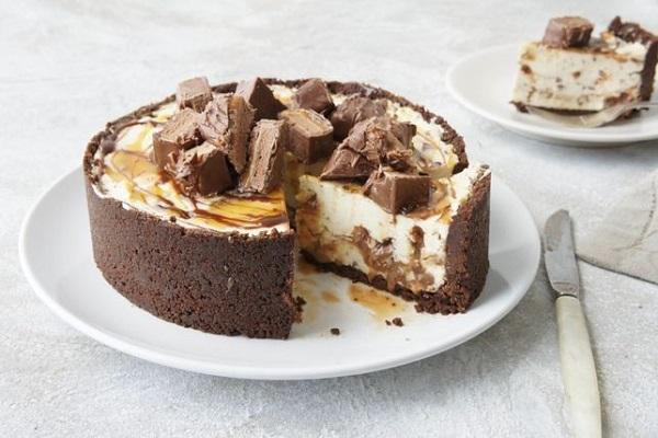 Mars Bar Cheesecake