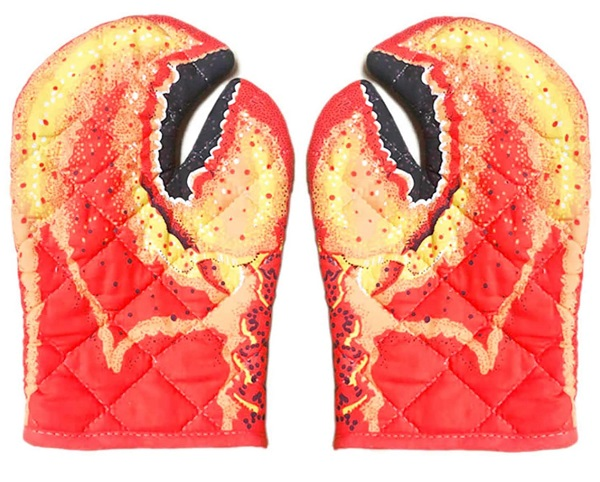 gerFogoo Crab Claw Oven Gloves