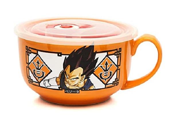 Dragon Ball Z Ceramic Soup Mug with Lid