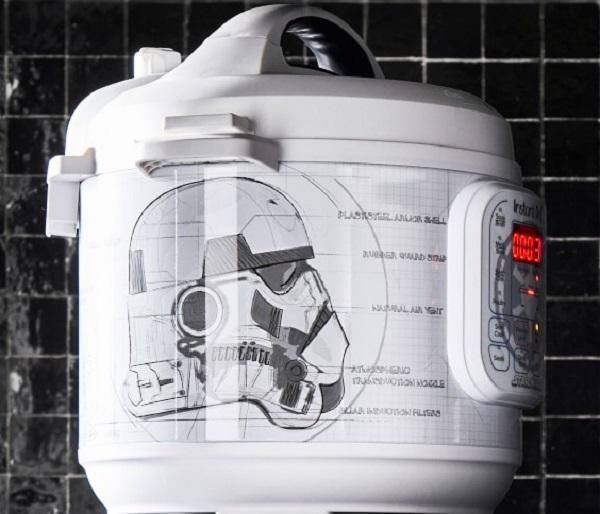 Williams Sonoma Star Wars Stormtrooper Instant Pot Duo 6-Qt