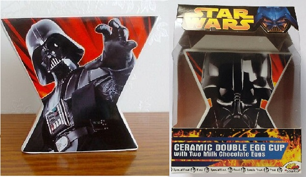 Star Wars Darth Vader Double Egg Cup