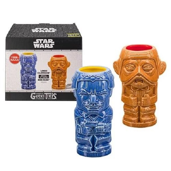 Star-Wars Lando and Nien Nunb Geeki Tikis Egg Cup Set