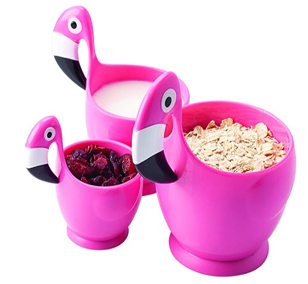 Flamingo Measuring Cups 3pc Set by Joie Kitchen
