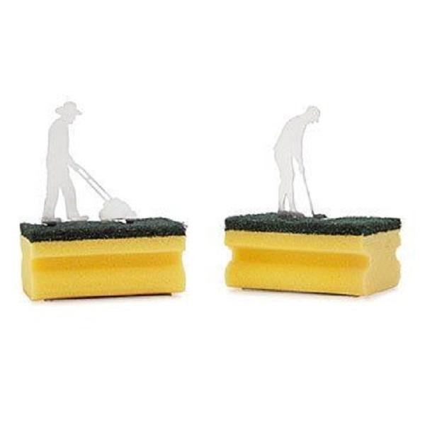 Silhouette Sponge Holder by Uncommon Goods