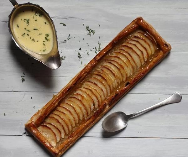 Basque Apple Tart