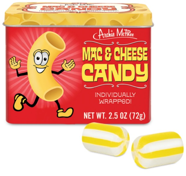 Mac and Cheese Flavour Candy by Archie McPhee