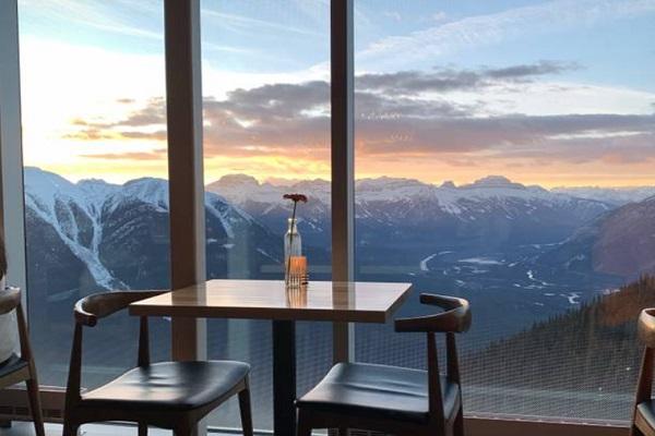 Sky Bistro, Banff, Canada
