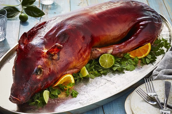Whole Roasted Piglet (Lechon)