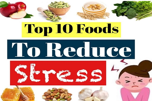 Ten Foods and Drinks That Are Proven to Relieve Stress