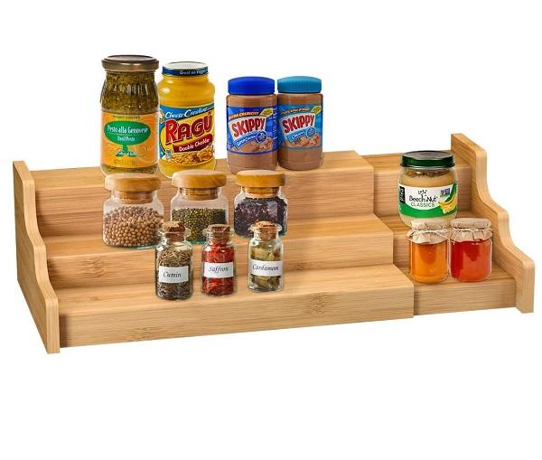 Spice Rack Kitchen Cabinet Organizer
