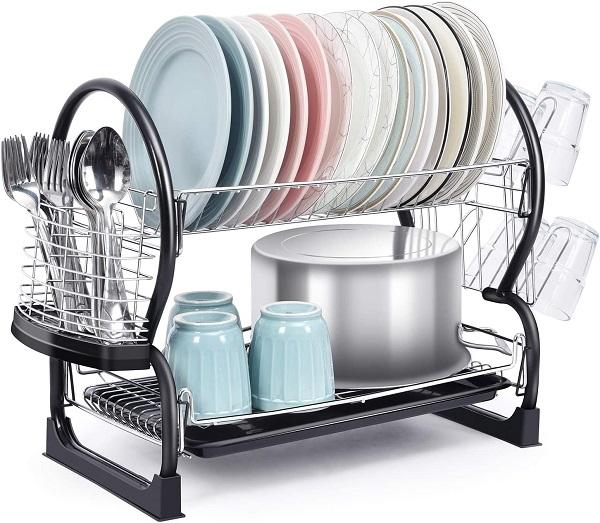TOOLF 2-Tier Dish Rack