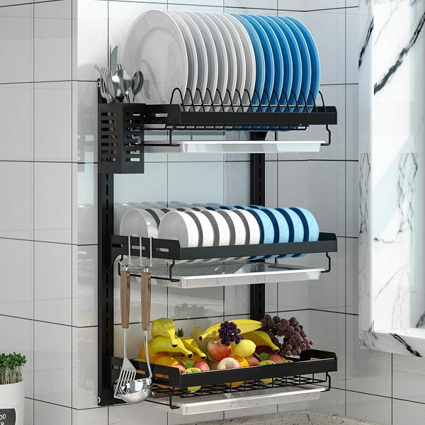 Get A Mountable Dish Rack