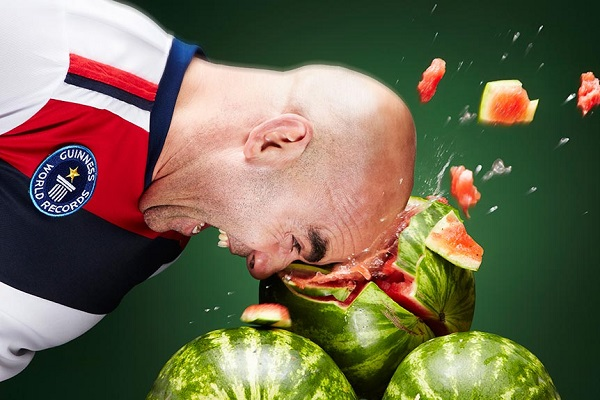 Smashing Watermelons With Your Head