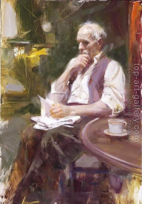 Image result for pino daeni old man and old woman