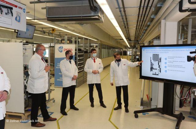 Energiespeichersystem mit Wasserstoff bereit zur Massenfertigung
