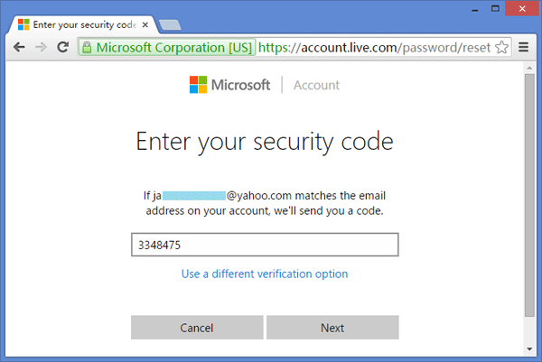 What Security Code