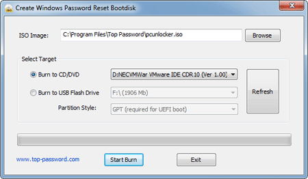 how to create a shadowprotect recovery cd