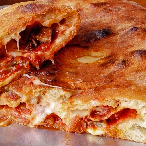 Calzone from Top Pizza