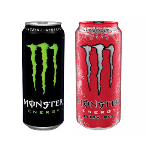 Monster Energy from Top Pizza
