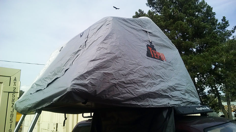 Roof Top Tent winter cover from Top Tent