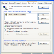Does your XP PC try to dial up the internet whenever you use one of our discs?