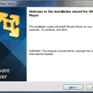 VMWare Player Tutorial 1 – Installing VMWare Player