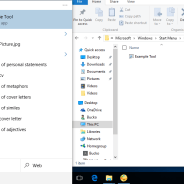 Manually Adding Programs to the Windows 10 Start Menu