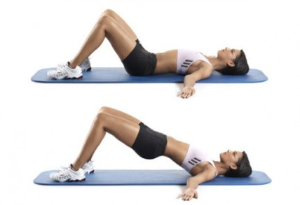 Image result for Hip Bridge Pulses