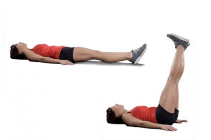 Image result for Straight Leg Raise ABS