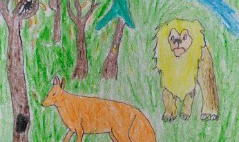 Ivano Fabijan: Lisica i lav