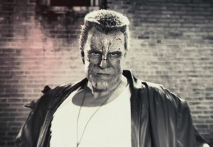 Mickey Rourke in Sin City